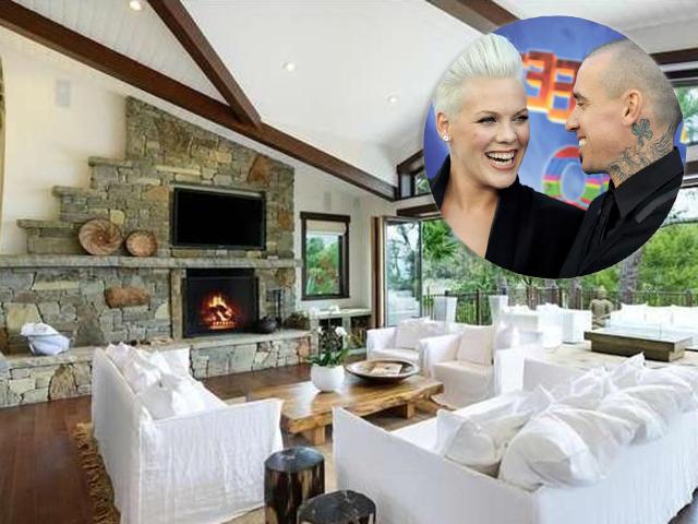 Pink e Carey Hart vendem propriedade milionária Malibu
