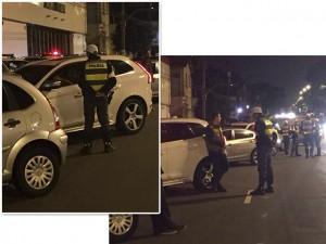 Isabeli Fontana e Di Ferrero são parados em blitz da Lei Seca em SP
