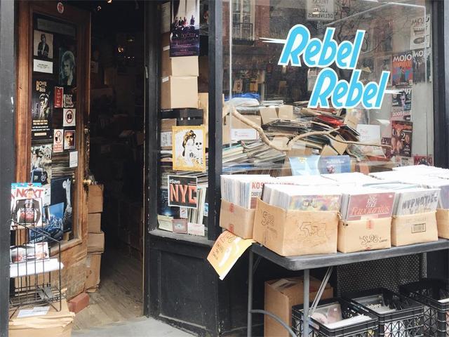 O aumento do aluguel e o crescimento da venda de músicas online ajudou a loja fechar suas portas