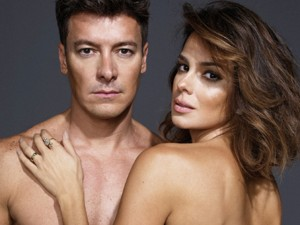 Rodrigo Faro e Vera Viel em ensaio despudorado para a Revista J.P