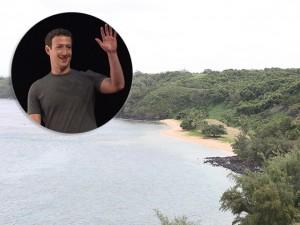 Mark Zuckerberg tampa vista de vizinhos com muro no Havaí