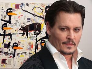 Vaquinha pro divórcio? Johnny Depp arrecada R$ 36 mi em leilão de obras