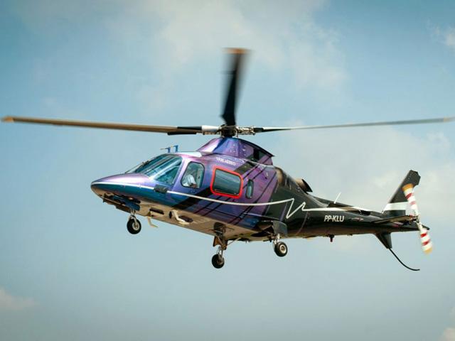 Tarifa especial para agendar voos de helicóptero entre os aeroportos de Guarulhos e Congonhas || Créditos: Divulgação