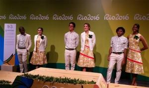 Uniforme da entrega de medalhas nos Jogos Olímpicos vira piada nas redes sociais