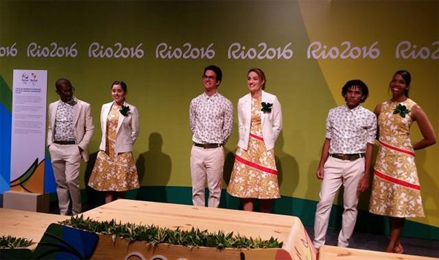 Uniforme da entrega de medalhas nos Jogos Olímpicos vira piada nas ... 68735ecd8ac4d