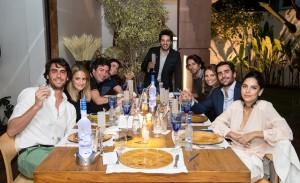 Grey Goose apresenta seus embaixadores em jantar chez Iquinho Facchini