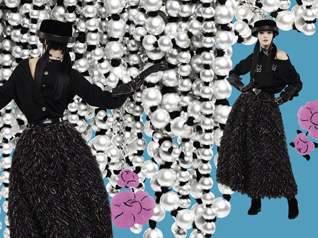 Campanha de inverno da Chanel  || Créditos: Reprodução