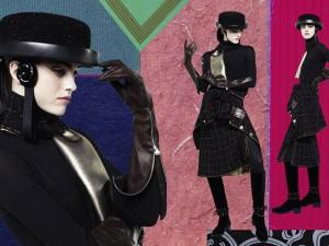 Karl Lagerfeld inova com colagens em campanha da Chanel