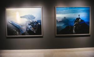 Cláudio Edinger abriu individual com fotos do Rio de Janeiro