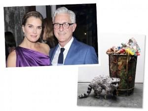 Brooke Shields salva obra de arte avaliada em R$ 26 mil do lixo