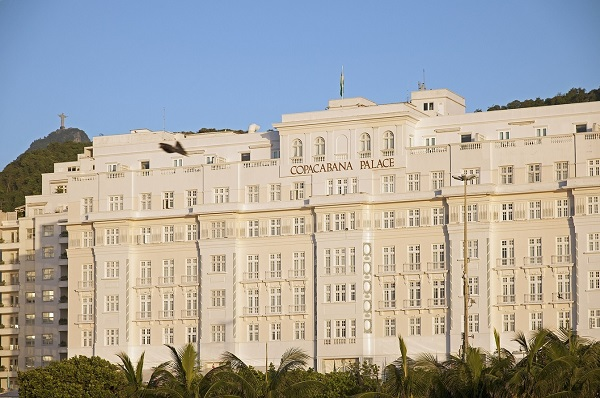 Fachada do Copacabana Palace, um dos mais tradicionais do Rio || Crédito: Divulgação