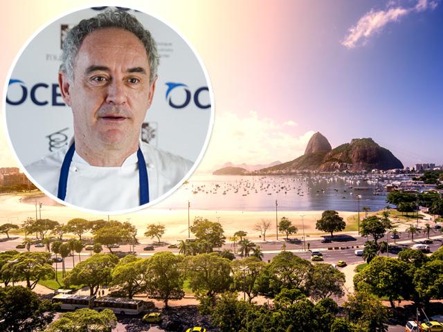 Ferran Adrià desembarca no RJ em janeiro de 2017!