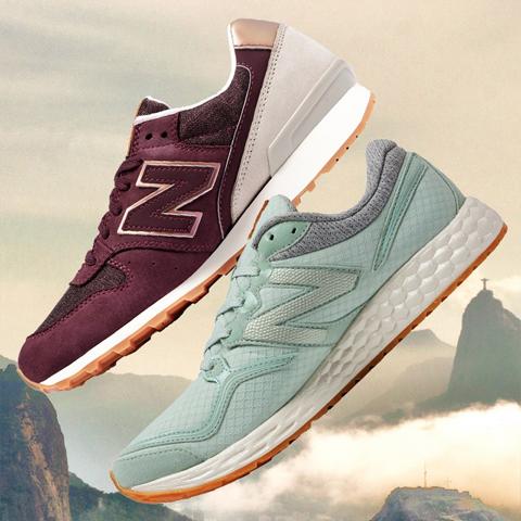 76273b38f5b Na pop store vai ser fácil encontrar todos aqueles sneakers-desejo da New  Balance que
