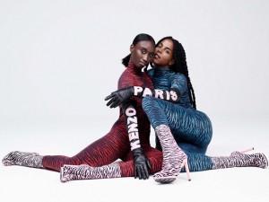 Animal print domina os primeiros looks da coleção Kenzo para a H&M