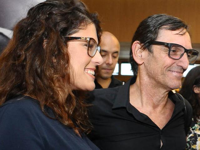 Renata Galvão e Paulo Miklos Créditos: Bruna Guerra