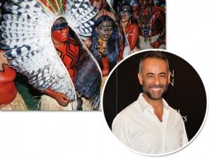 Em imersão cultural no Brasil, Francisco Costa visitar os iauanauás