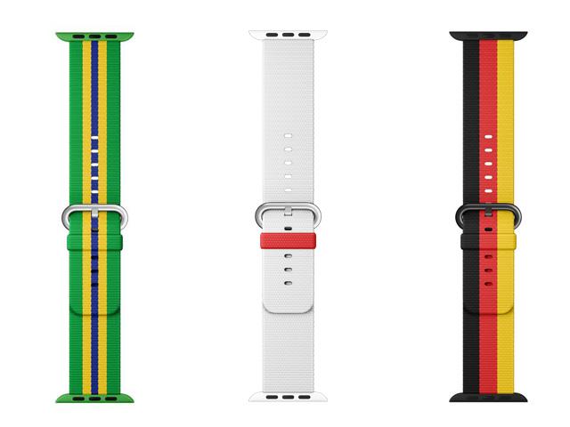 As cores de 14 países presentes nos Jogos Olímpicos agora também em pulseiras de edição limitada para o Apple Watch