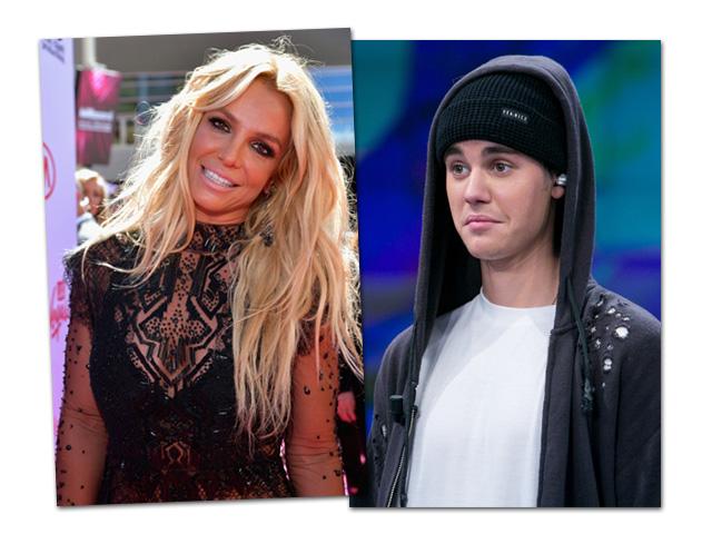 Britney Spears tenta parceria com Justin Bieber para atrair o fãs