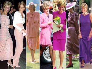 """No aniversário de Lady Di, 21 looks formando a """"escala tonal de princesa"""""""