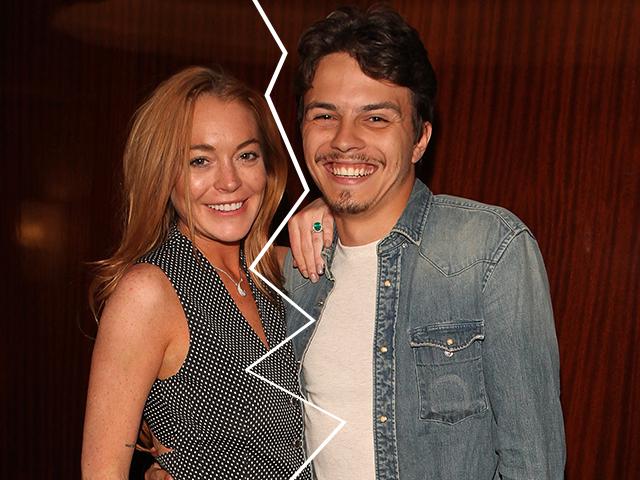 Lindsay Lohan e Egor Tarabasov Crédito: Dave Benett / Getty Images