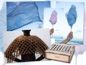 Artista carioca cria novas funções para o cashmere em exposição