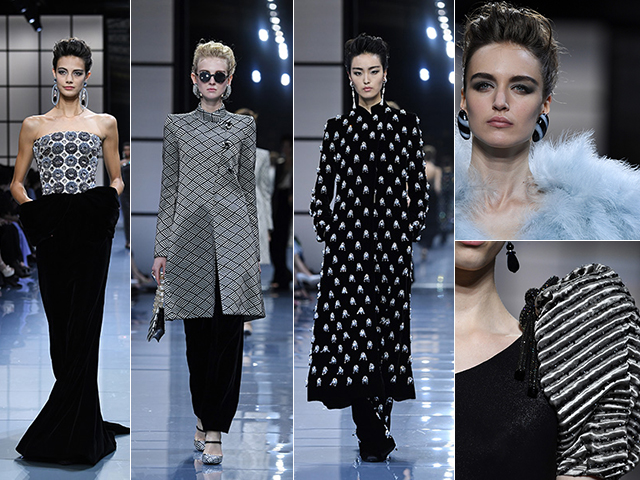 Highlights do desfile de alta-costura da Armani Privé || Crédito: Getty Images