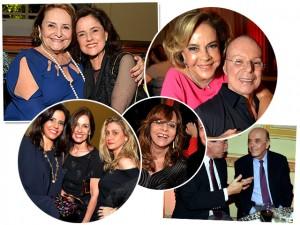 Lucinha Araújo comemora 80 anos entre amigos famosos no Rio. Quem?