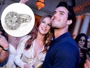Marina Ruy Barbosa fica noiva e ganha anel de 3.5 quilates