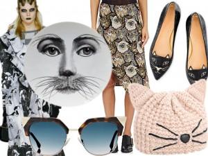Invasão felina na moda! Os gatos dão vida às peças da estação