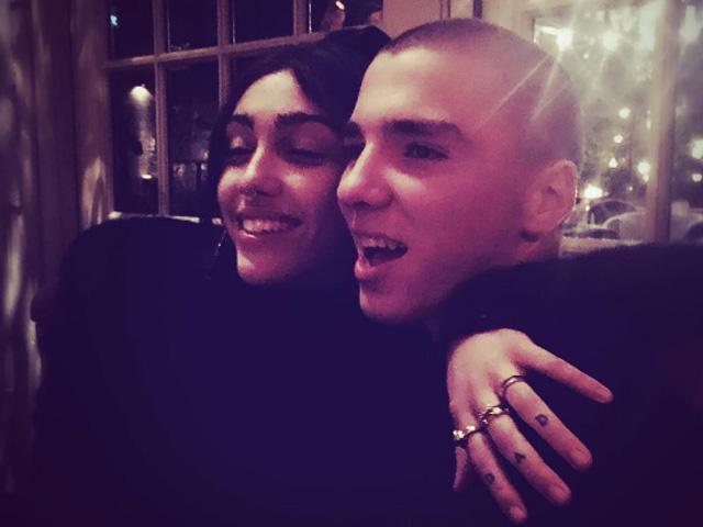Lourdes Maria e Rocco || Reprodução Instagram