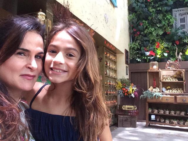 Danielle Dahoui e a filha Noáh  ||  Crédito: Reprodução / Instagram