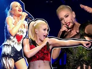 Gwen Stefani estreia turnê com figurino trabalhado no bordado