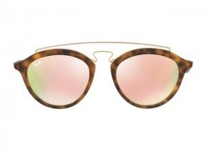 e2d1b735f0bf8 Desejo do Dia  os óculos de sol Gatsby com lentes espelhadas da Ray-Ban