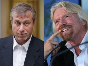 "Richard Branson critica hobbies de Roman Abramovich: ""perda de dinheiro"""