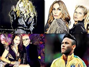 Prisma neles: Glamurama transforma Ivete, Xuxa, Gisele e outros glamurettes em arte