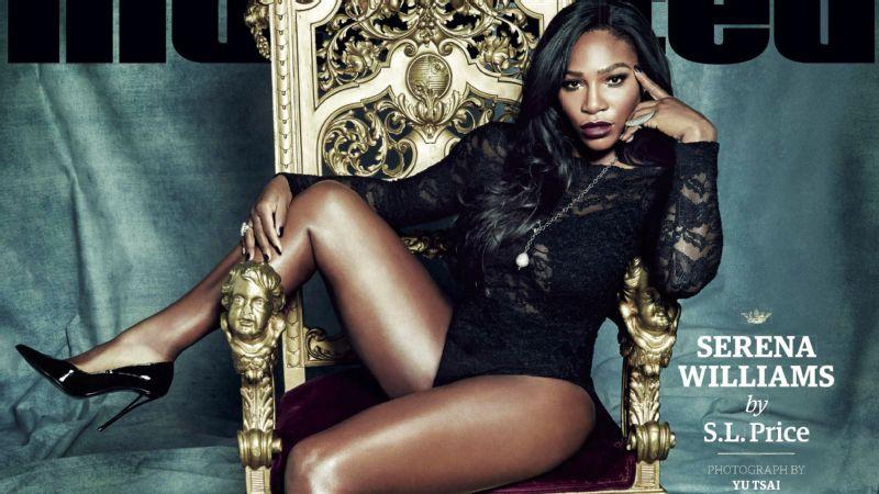 Serena Williams na capa da Sports Illustrated Crédito: Reprodução