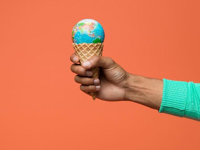 Ação do Uber irá distribuir sorvetes mundialmente  || Créditos: Reprodução Instagram
