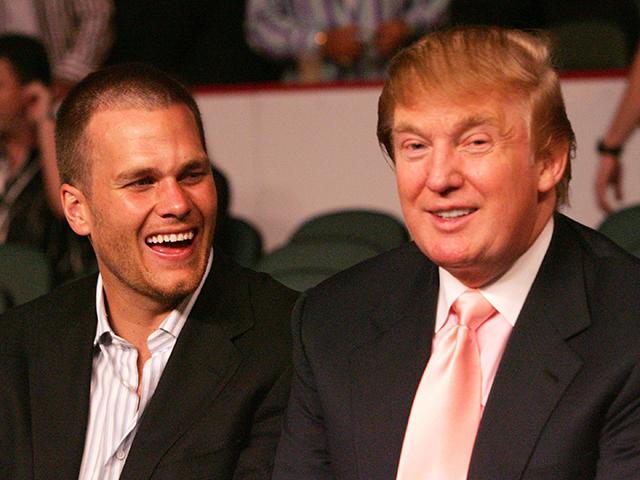 Tom Brady e Donald Trump