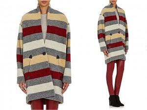 Desejo do Dia: um abraço gostoso com o casaco cobertor Isabel Marant Étoile