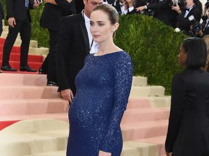Nasceu a segunda filha de Emily Blunt, a nova Mary Poppins do cinema
