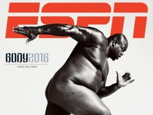 Acima do peso? Revista da ESPN traz atleta de 150 kg nu na capa