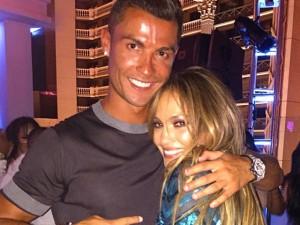 Cristiano Ronaldo e mais na festa de aniversário de J.Lo em Las Vegas
