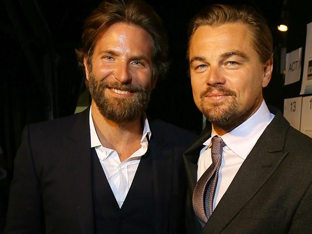 Leonardo DiCaprio e Bradley Cooper