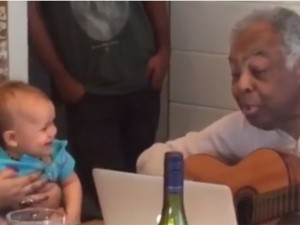 Netinha de Preta Gil, Sol ganha música exclusiva do bisavô, Gilberto Gil. Play!