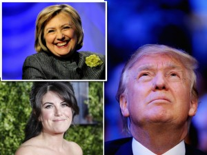 Apoio de Monica Lewinsky é disputadíssimo por Hillary e Trump