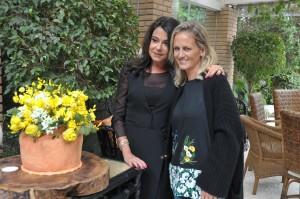 Maria Celia Cury comemora aniversário com almoço para 100 mulheres