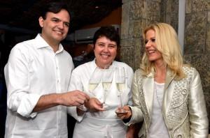 Antonio Bernardo, Dado Villa-Lobos e mais na festa de Paula Toller