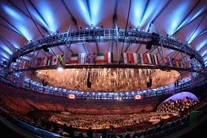 Artistas, atletas e muito Brasil na abertura das Olimpíadas do Rio