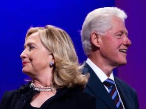 Hillary Clinton tira folga para comemorar aniversário de Bill Clinton