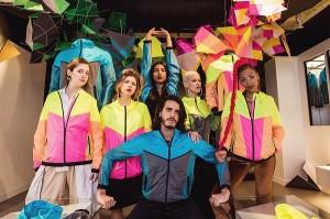 Britânico Kim Jones lança coleção cheia de cores durante as Olimpíadas